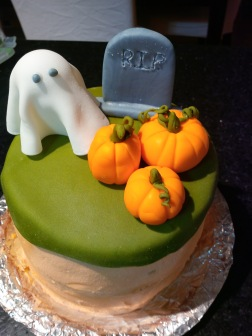 cake for the school Halloween Howl!